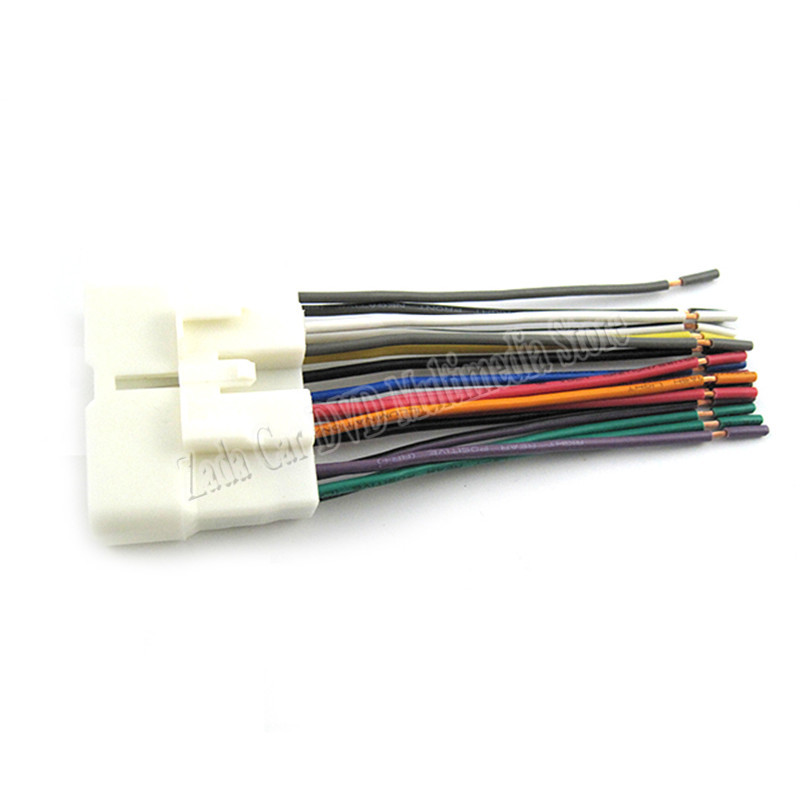 Top Quality Car Audio Stereo Wiring Harness Adapter Plug border=