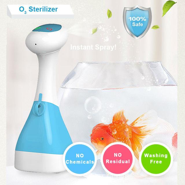 Портативный озона чистые продукты воздуха генератор озона пищевой дезинфицирующее средство овощи и фрукты озонатор воды домашние озонатор