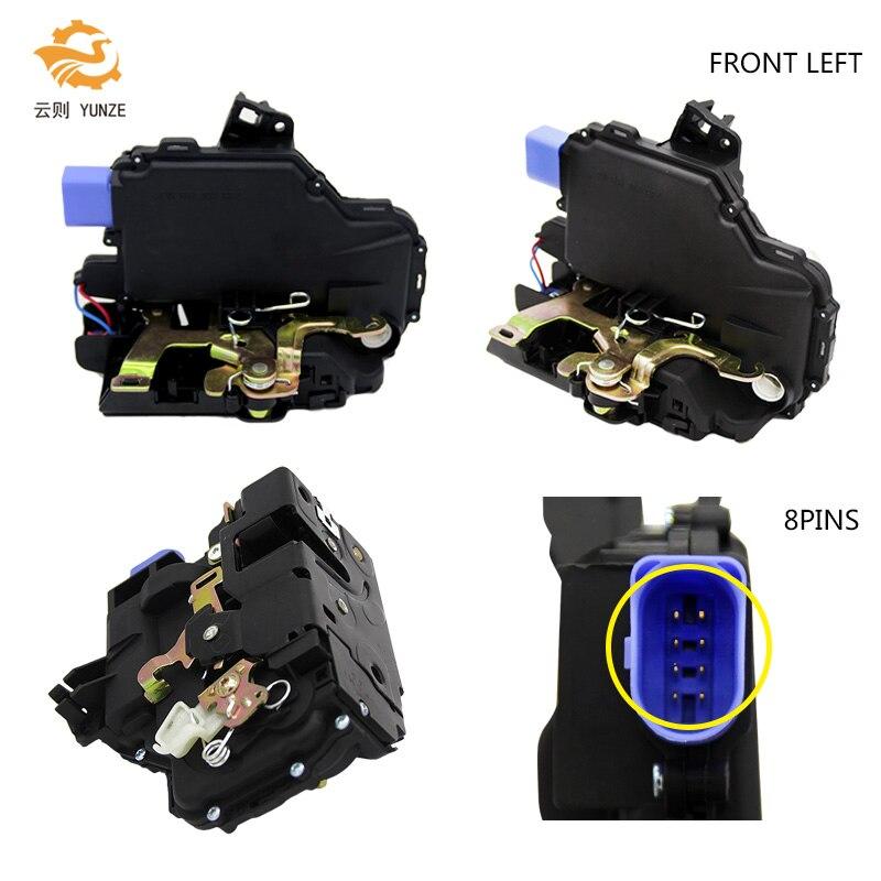 5J1837015 FRONT LEFT DRIVER SIDE DOOR LOCK ACTUATOR FOR VW T5 TRANSPORTER 2003-