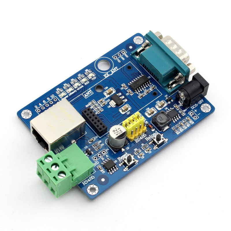 Q065 USR-WIFI232-2EV2 WIFI Module Evaluation Board Test RS232/RS485 to WIFI to Ethernet q103 usr wifi232 t evk tiny size low power rs232 turn wifi module evaluation kit convetor
