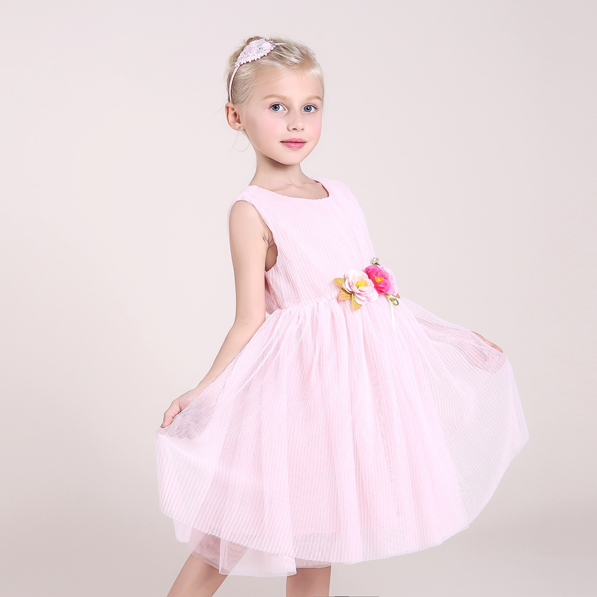 Aliexpress Buy Baby Girls Party Dress Summer Cotton Appliques