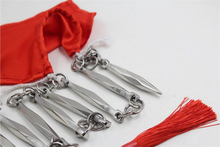 Stainless Steel Nine-Section Wu shu whip martial arts performing combat eight edges 9-section sanderswood whip cold weapon