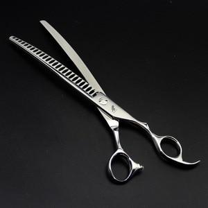 Image 3 - Freelander8.0inch Professional Shears Dog Pet Grooming Scissors Polishing Tool Thinning  Scissors  High Quality