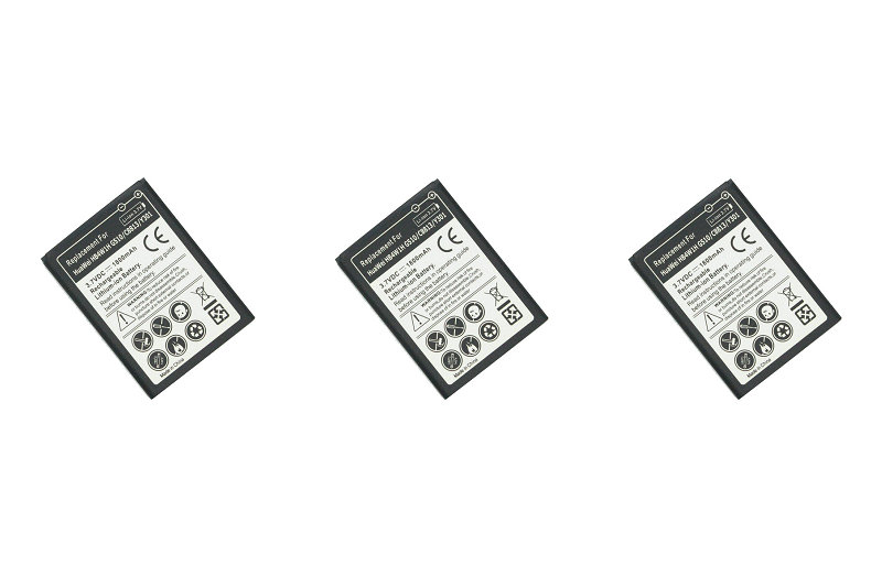 3pcs/lot 1800mAh HB4W1/H Replacement Battery For Huawei