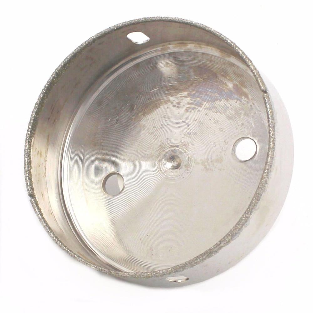 80-100 mm Diamante Foro sega Punta da trapano Attrezzi per fresa per - Punta da trapano - Fotografia 5