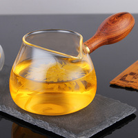 New Arrived Heat Resisting Clear Glass Fair Cup Handmade Chinese Kung Fu Tea Cups Tea Pitcher
