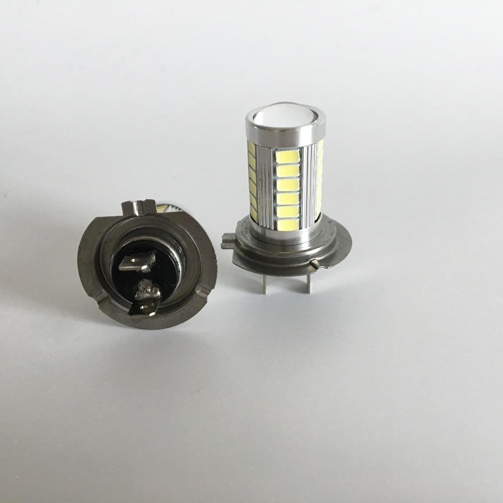 H7 LED 33SMD Gündüz İşıq Avtomobil LED Duman Sürücü - Avtomobil işıqları - Fotoqrafiya 4