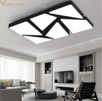 Vitrust Modern Ceiling Lamps Lighting Fixture Plafonnier Led Moderne Lamparas De Techo Flush Mount Living Room