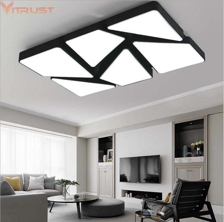 Vitrust Modern Ceiling Lamps Lighting Fixture Plafonnier led Moderne Lamparas de techo Flush Mount Living room Dining Dimming