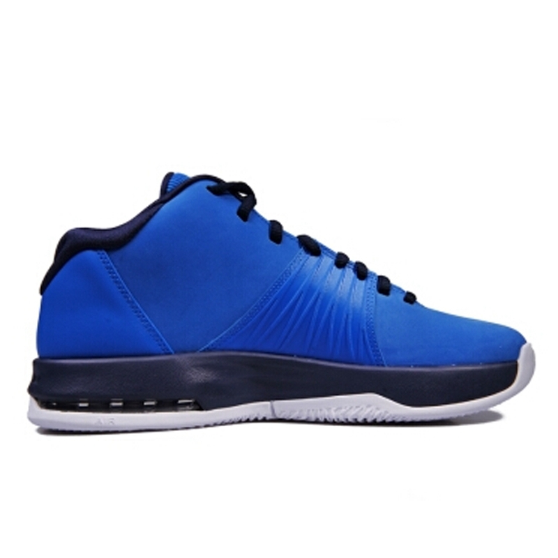 Original New Arrival Authentic NIKE Men's Breathable Basketball Shoes  Sneakers Blue jordan sneaker Non slip wear-in Basketball Shoes from Sports  ...