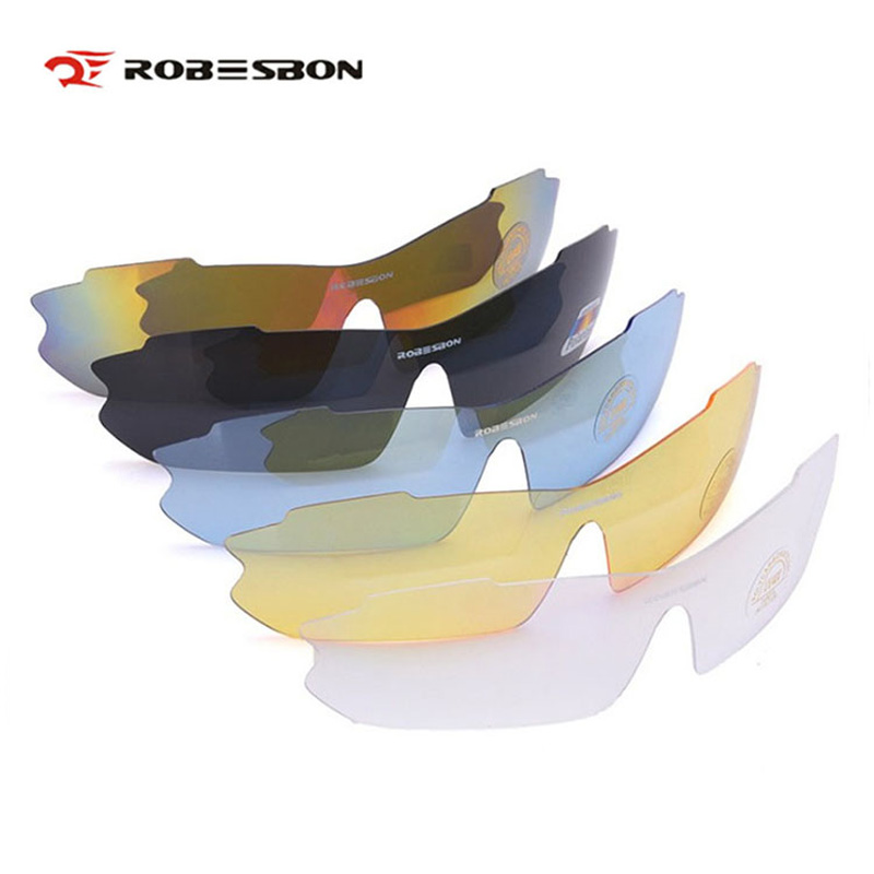 ROBESBON Men Cycling Glasses Frame/Lens UV400 Polarized Bicycle Eyewear Outdoor Sports MTB Bike Sunglasses Box Gafas Ciclismo