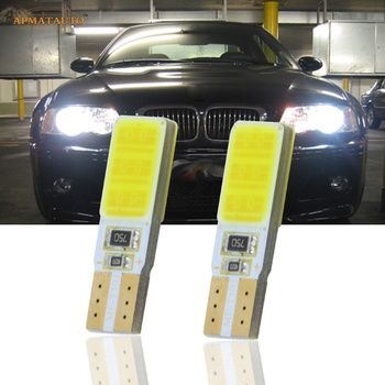 2x T10 W5W CANBUS NO ERROR For SAMSUNG COB Chips LED Side Parking Lights Marker Lamps Bulb For BMW E30 E32 E36 E39 E46 E66 E85 image