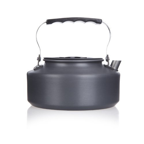 SZ-LGFM-1.1L Portable Ultra-light Outdoor Hiking Camping Picnic Water Kettle Teapot Coffee Pot Anodised Aluminum