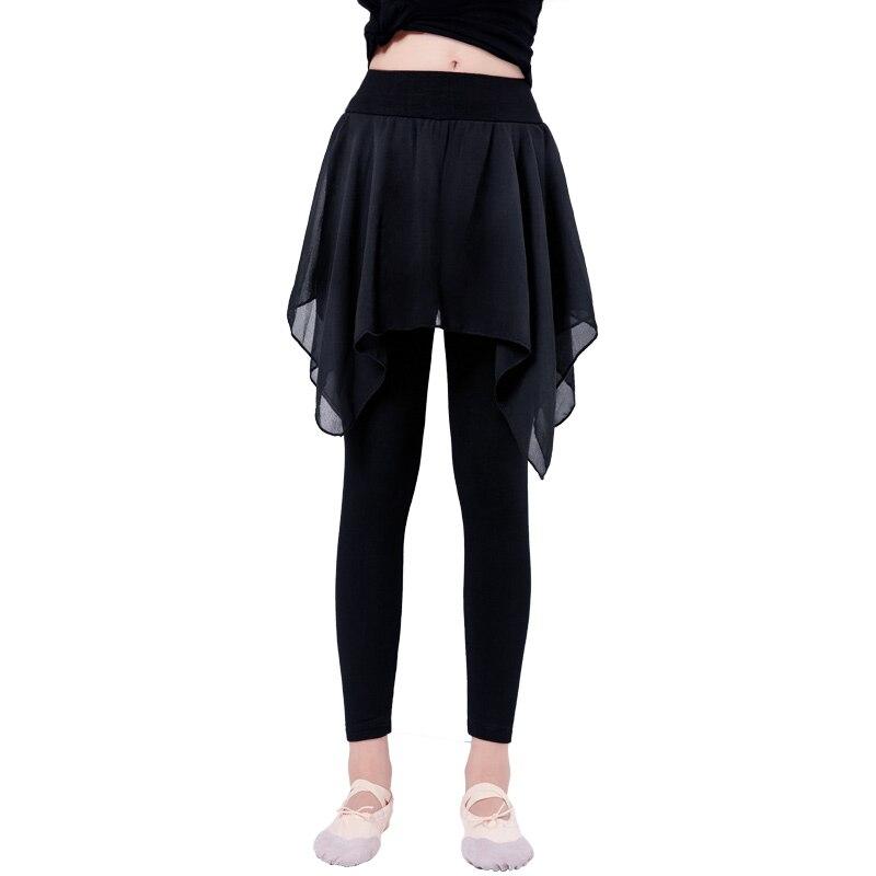 girls-fitness-cotton-font-b-ballet-b-font-dance-pants-lyrical-chiffon-skirt-gymnastics-yoga-practicing-leggings-for-children