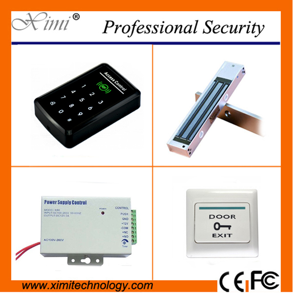 Free shipping cheap card access control system touch keypad 125KHZ smart card reader password door control free shipping pos software cheap touch