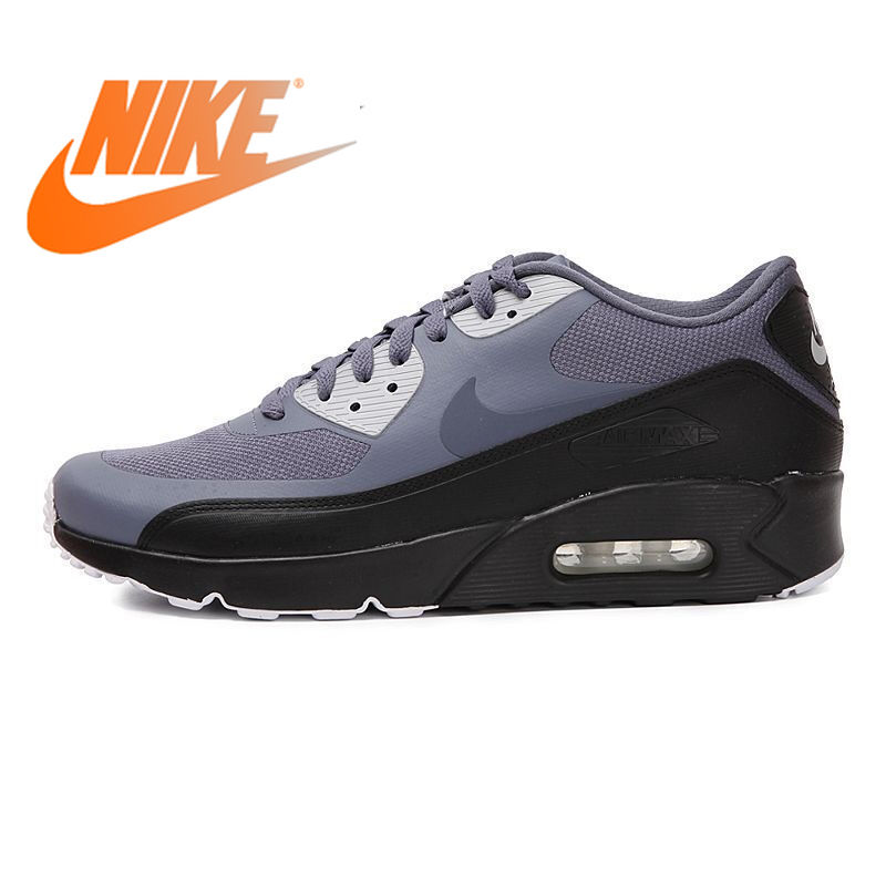 Original Authentic NIKE AIR MAX 90 Men's Running Shoes Fashion Lightweight Breathable Lace Comfortable And Durable 875695-012