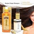 2 unids Profesional de reparación de champú y acondicionador con jengibre cuidado del cabello champú del crecimiento del pelo rápido densa + Andrea Pelo crecimiento