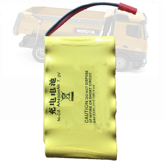 7.2v 400mah 700mah 2000mah JST  Lithium Rechargable Battery For Huina 573 1573 RC Truck Recharge