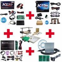 Полный набор онлайн ЕС kess v4.036 + ktag v6.070 + Fgtech V54 + BDM100 + Матрица для режима отладки для центрального блока системы электропитания ЭБУ чип инструм