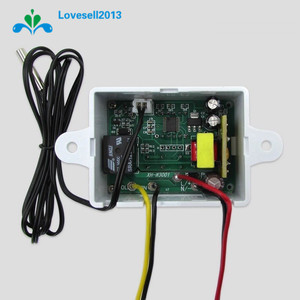 Image 4 - 220V 10A Digital LED Temperature Controller XH W3001 For Arduino Cooling Heating Switch Thermostat + NTC Sensor