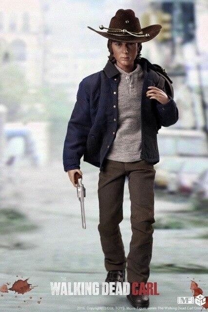 Auf Lager Cgltoys Mf06 16 The Walking Dead Carl Sammlung Action