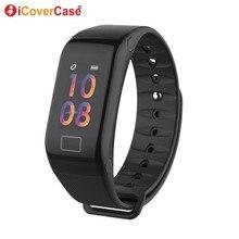 עבור Huawei Mate 20 פרו X 10 P30 P20 לייט P10 P9 בתוספת P חכם + 2019 ספורט צמיד חכם שעון כושר גשש חכם Wristbands