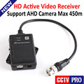 HD Активность Пассивный Видео Балун 1080 P AHD Камеры Приемник UTP Network Power CAT.5e, CAT.6, Камеры ВИДЕОНАБЛЮДЕНИЯ BNC Поддержка МАКС 450 М