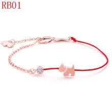 TYME nuevo llega la moda pulsera brazalete de color oro para pareja RB01