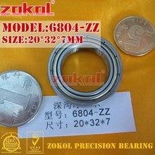 ZOKOL 6804 Z lager 6804 2RS ZZ Z1 6804RS 6804ZZ diepgroefkogellager 20*32*7mm