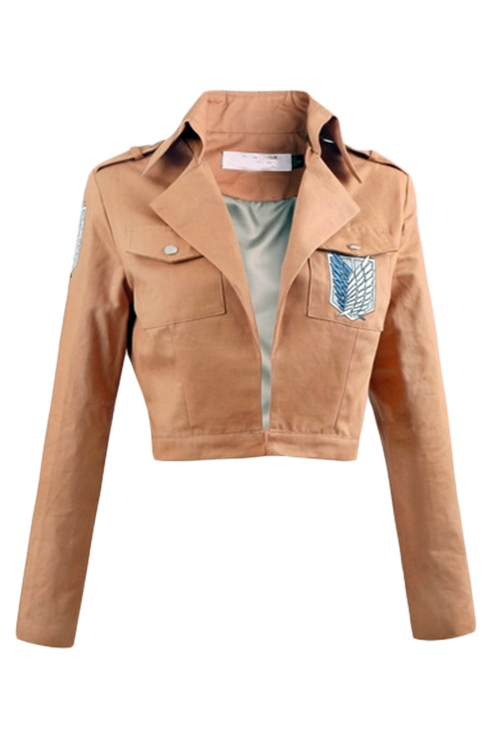 Anime Attack on Titan Shingeki no Kyojin Legion Uniform Fabric Jacket Coat Eren Levi Ackerman Rivaille Cosplay Costume