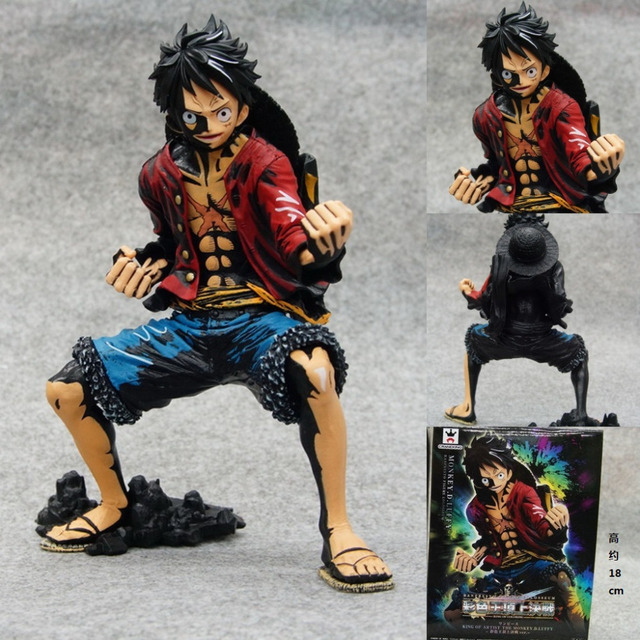 Luffy in Action Figurine
