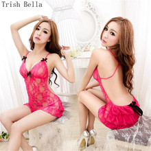 Lace transparent Camisole Hollow out Pajamas Backless Breasts dress sexy lingerie babydoll sexy underwear lenceria erotic porno hiwin mgnr 800mm hiwin mgr12 linear guide rail from taiwan