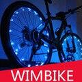 Световая гирлянда  светодиодная подсветка для велосипедного колеса  водонепроницаемые красочные велосипедные фонари  велосипедная лампа  ...