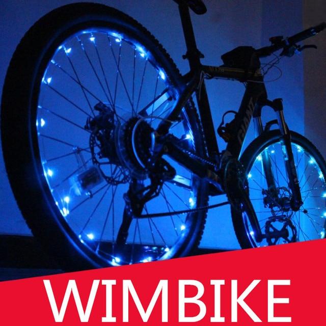 Light String LED Fiets Wiel Verlichting Waterdichte Kleurrijke ...