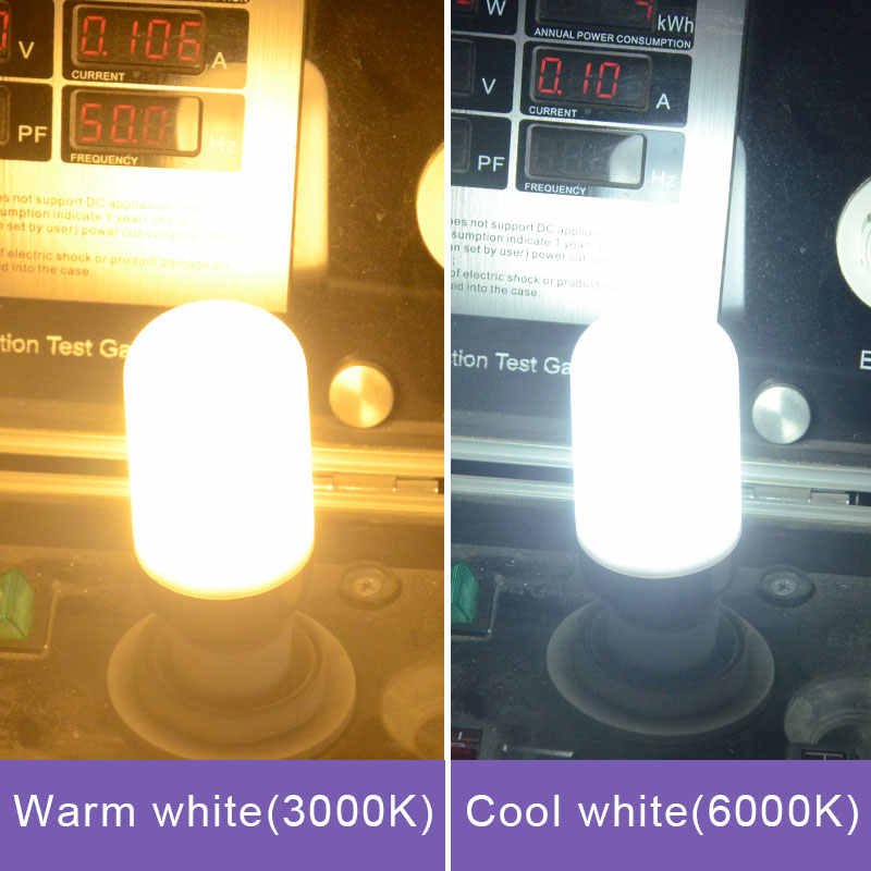 Ampoule LED E27 E14 Corn Bulb 3W 5W 7W 9W 12W 220V B22 LED Light Emitting Diode Lamps High Lumen SMD 5736 Spotlight bombillas