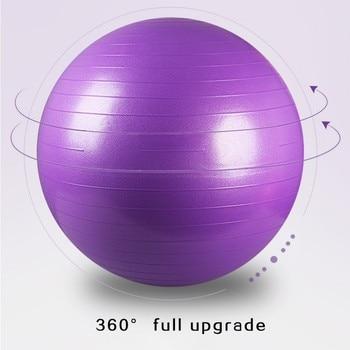 WorthWhile Gym Yoga Balls Pilates Fitness Exercise Balance Ball Workout Training Powerball Equipment Accessories 55cm 65cm 75cm 2