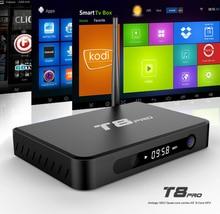 Livraison gratuite à partir des ÉTATS-UNIS GULEEK T8Pro Android 5.1 Amlogic s812 quad core 2.0 GHz RAM 2G ROM 8G WIFI 4 K intelligent android tv boîte