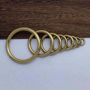 10pcs Brass Ring Cabinet Handl