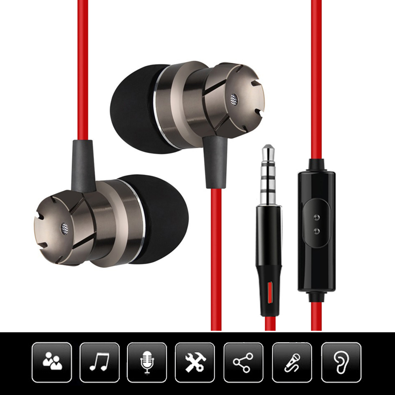 Headphone for Computer Phone 3.5 mm Gaming Headset With Microphone Wired Magnetic In-ear Earbuds Stereo Bass Computer Earphone плащ и маска черепашка ниндзя uni