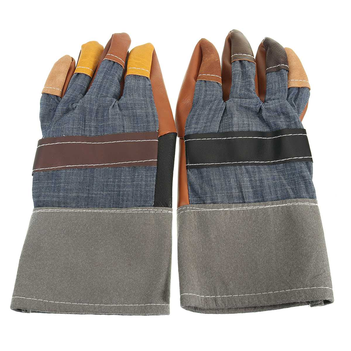 NEW Safurance Special Gloves Welder Gloves Leather Workplace Safety Hand Protection Cut Resistant strong 0 35mmpb medical x ray protective gloves ray workplace use gloves lead rubber gloves