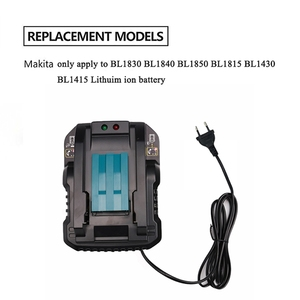 Image 2 - Dc18Rc 14.4V 18V Li Ion Battery Charger 4A Charging Current For Makita Bl1830 Bl1430 Dc18Rc Dc18Ra Power Tool Battery Eu Plug