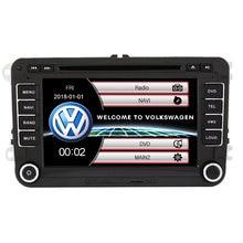 BYNCG 7 «2 din автомобильный DVD GPS Радио стерео плеер для гольфа 6 passat b6 B7 туристическое Поло Tiguan seat Leon Skoda Octavia карта камера