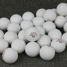 100 шт./лот 3 звезды Новый Материал белый orange Настольный теннис Мячи 40 + ABS Пластик пинг-понга