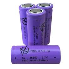 DING LI SHI JIA 4pcs 26650 Battery Rechargeable Battery 3.7V 8800mAh Li-ion Battery For LED Flashlight Torch Batteries цена