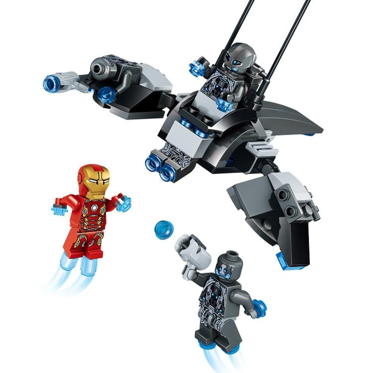 90pcs <font><b>Iron</b></font> <font><b>Man</b></font> VS <font><b>Ultron</b></font> Legoelied Super Heroes <font><b>Marvel</b></font> <font><b>Avengers</b></font> 2 Age of <font><b>Ultron</b></font> Minifigures Building Block Bricks Toy Gift Kids