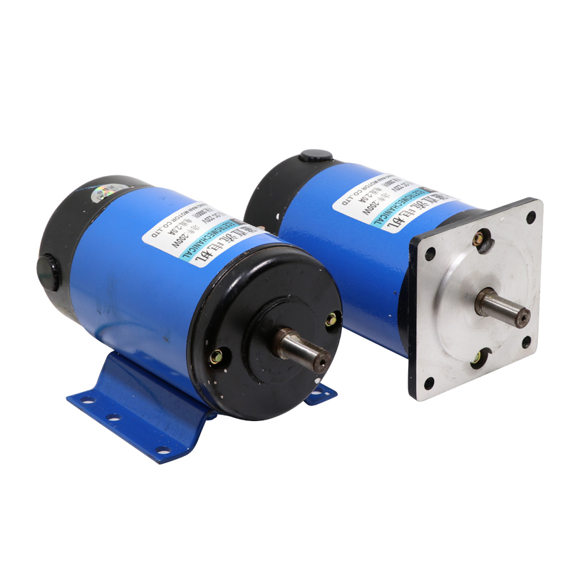 1pcs XD-ZYT90, 220V <font><b>DC</b></font> Permanent Magnet <font><b>Motor</b></font>, <font><b>200W</b></font> 1800RPM high-power high-speed <font><b>motor</b></font>, speed <font><b>motor</b></font>,Adjustable speed CW/CCW image
