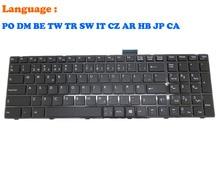PO DM CA IT Keyboard For MSI CR60 CR70 CR61 0M 2M 3M CX61 0NC 0ND 0NE 0NF 0OD 0OL 2OC 2OD 2PC 2PF 2QC 2QF CX70 2PF 2QF GE60 GE70 цена в Москве и Питере