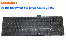 PO DM CA IT Keyboard For MSI CR60 CR70 CR61 0M 2M 3M CX61 0NC 0ND 0NE 0NF 0OD 0OL 2OC 2OD 2PC 2PF 2QC 2QF CX70 2PF 2QF GE60 GE70(China)