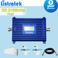 Full Set 70db High Gain 3G WCDMA 2100MHz Mobile Phone Signal Booster 3g UMTS 2100 Cellular