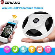 hot deal buy ap mode 1080p ip network camera wireless cctv wifi p2p ip camera indoor 360 degree panorama remote control surveillance camera